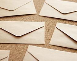 郵送での被害が多い