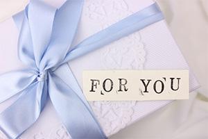 Amazonギフト券のプレゼント包装イメージ画像